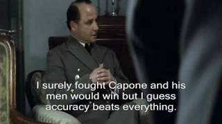 Hitler finds out the results for Deadliest Warrior.