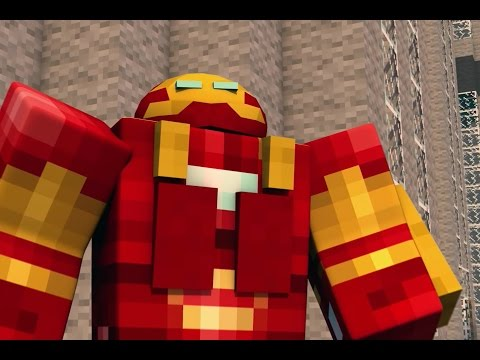 Marvels Avengers Age of Ultron – Minecraft Animation Trailer
