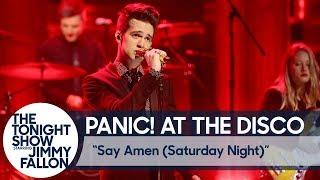 Panic! At The Disco: Say Amen (Saturday Night)