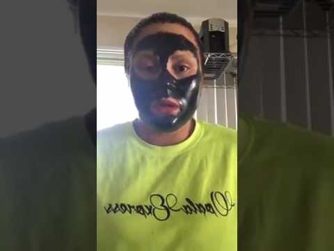 Charcoal Face Mask Gone Wrong