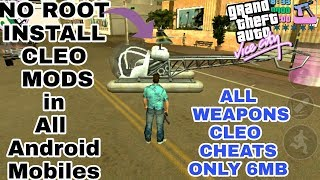 No Root How To install cheats/cleo mods in GTA vice city Android support in All android Mobiles