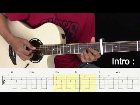 Menunggu Kamu - Anji - Fingerstyle Guitar Tutorial.