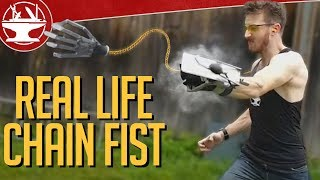 Make it Real: Chain Fist from Kingsman 2!