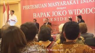 PIDATO Presiden RI Bpk. Joko Widodo di Nederland.Up  3 By Wahyu Koen