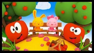 Pomme de reinette et pomme d'api - Comptines Méli et Touni pour les enfants