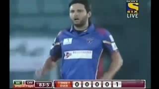 Shahid Afridi Brilliant Bowling Spell in BPL 2016