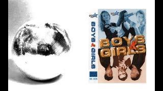 Składanka Boys & Girls - Girls Mega Mix '98 POLSKI POWER DANCE Lata 90-te