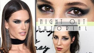 Tutorial ll Night Out- Alessandra Ambrosio ll Gina Bley