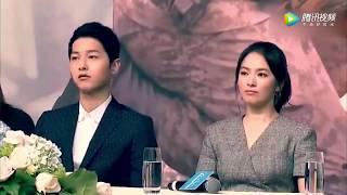 宋仲基宋慧乔结婚《太阳的后裔》高甜拍摄花絮合辑