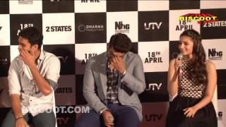 Full: 2 States 2014 Movie | Alia Bhatt, Arjun Kapoor | Trailer Launch