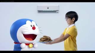 Iklan Sharp J Tech Inverter AC - Doraemon & Nobita 60sec (2017)