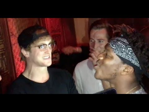 FACE TO FACE WITH LOGAN PAUL BEFORE PRESS CONFERENCE