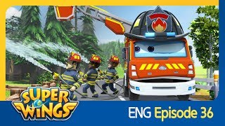 [Super Wings] EP 36 - Fireman Dad(ENG)