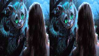 3D TV Alice in Wonderland 3D Trailer in Stereoscopic 3D 1080p TRU3D