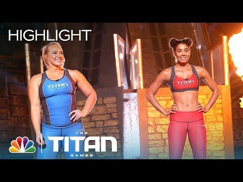 Xxx Mp4 Nikkie Neal And Charity Witt Battle On Mount Olympus Titan Games 2019 3gp Sex