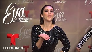 Eva la Trailera | Erika de la rosa nos habla de sus cambios de look | Telemundo Novelas