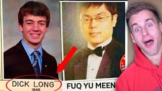 REAL PEOPLE WITH AWFUL NAMES..