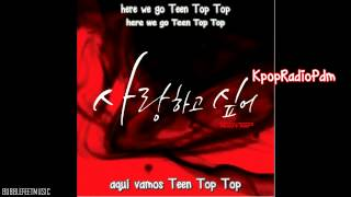 [Sub Español] Teen Top -  I Wanna Love MV (Hangul - Roma)