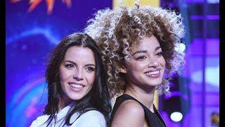 Shayla Gatta e Mikaela Neaze Silva Veline di striscia la Notizia