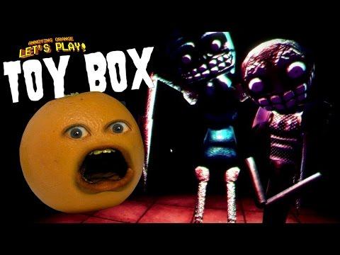 Annoying Orange Plays ToyBox SCARY PAC MAN