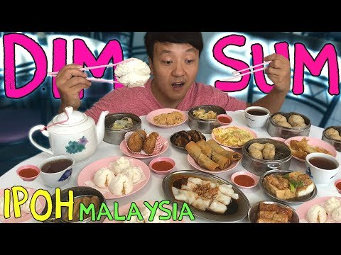 DIM SUM & Best CURRY in Ipoh Malaysia