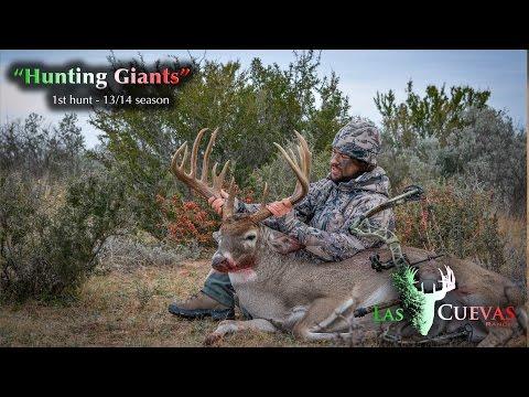 Hunting Giants 1st hunt Las Cuevas Ranch