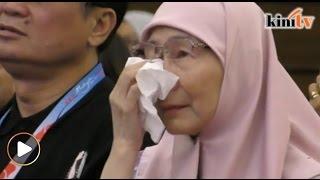 Air mata isteri, anak jatuh bila saksi video kenangan Anwar
