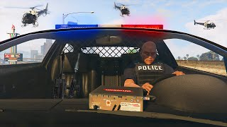 EXTREME POLICE MOD (GTA 5 Mods Funny Moments)