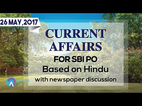 Xxx Mp4 CURRENT AFFAIRS THE HINDU SBI PO MAINS 26th May 2017 Online Coaching For SBI IBPS Bank PO 3gp Sex