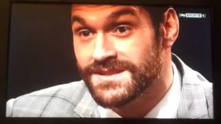 Tyson Fury tells Klitschko to