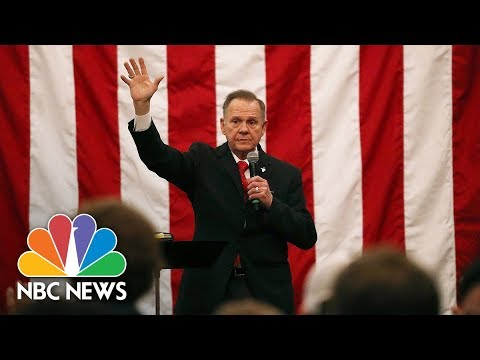 Xxx Mp4 Roy Moore Delivers Concession Speech From Alabama Full NBC News 3gp Sex