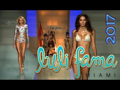 LULI FAMA SS 2017 Bikini Runway Show @ MIAMI SWIM Fashion Week SEXY Top Models and Exotic Dancers