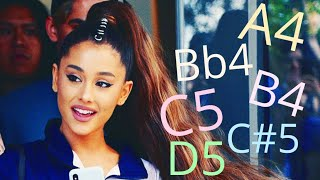 Ariana Grande's GORGEOUS Mid Belts!