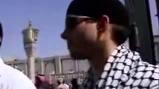 Hamza young american convert to islam crying when performing hajj