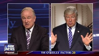 Watch Alec Baldwin impersonate Trump and Bill O'Reilly on 'SNL'