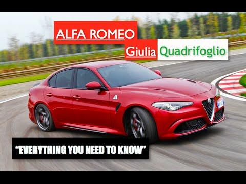 2017 Alfa Romeo Giulia Quadrifoglio Everything You Need To Know Inside Lane