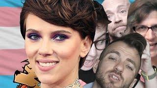 Trans Community vs Scarlett Johansson - never go full retard