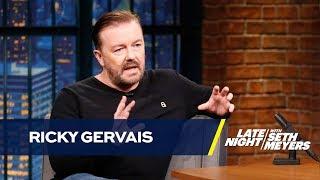 Ricky Gervais Mistook a Snakeskin for a Used Condom