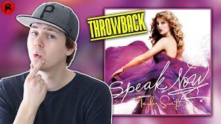 TAYLOR SWIFT - SPEAK NOW (2010)   ALBUM REVIEW
