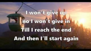 Shakira - Try Eveything (1 hour loop + lyrics) From
