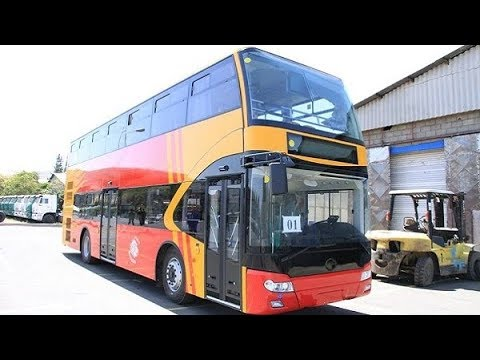 Xxx Mp4 Ethiopia Double Decker School Buses Manufactured By METEC To Serve Students In Addis Ababa City 3gp Sex