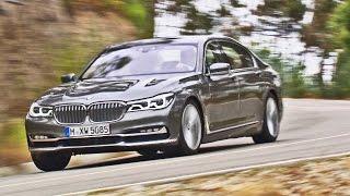 2016 BMW 7 Series Long Wheelbase 750Li xDrive G12 - Footage