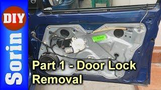 Door Lock Module Removal - Seat Leon 1m / Toledo 2 - Part 1