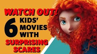 Watch Out! 6 Popular Kids' Movies with Surprising Scares