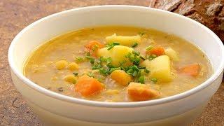 German Pea Stew - Vegan Vegetarian Recipe