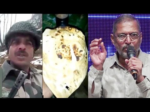 watch Nana Patekar BEST Reaction On Indian Army's Corruption Exposed By BSF Jawan