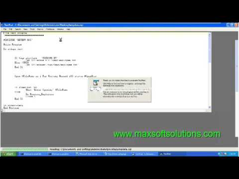 Peoplesoft Hrms Online Training session | SQR topic introduction