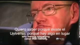 Entrevista a Stephen Hawking subtitulada en castellano