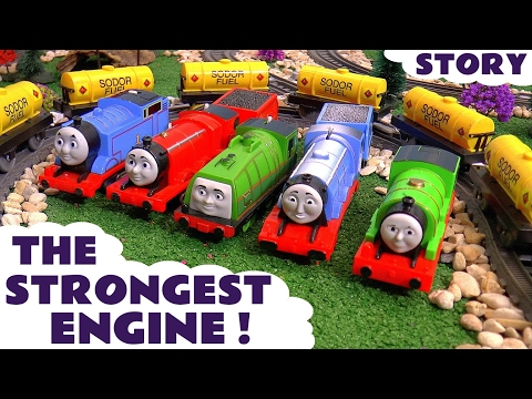Thomas & Friends Toy Trains Strongest Engine Episode Fun Trackmaster Kids Story Video Tt4U