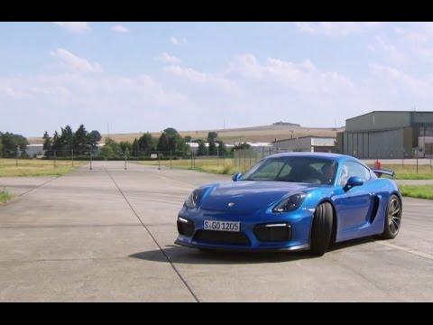 Porsche Cayman GT4 Fahrspaß Offenbarung Die Tester auto motor und sport